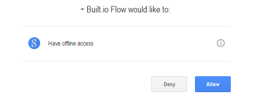 Allow access to Built.io Flow